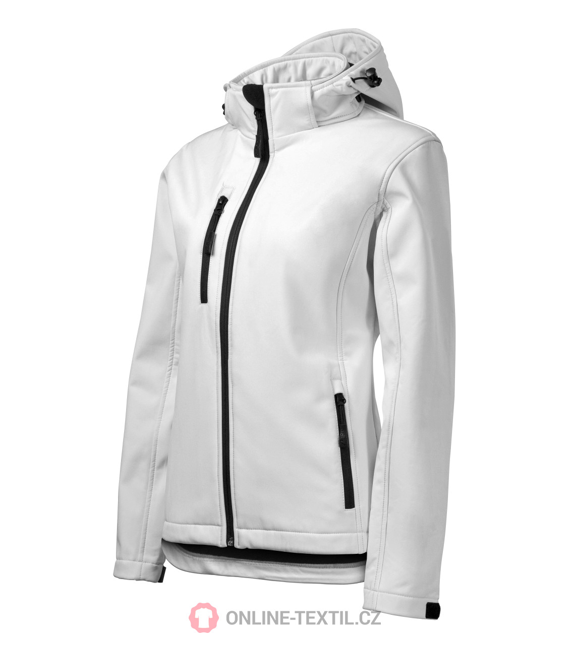 Ladies Softshell Jacket Performance with removable hood