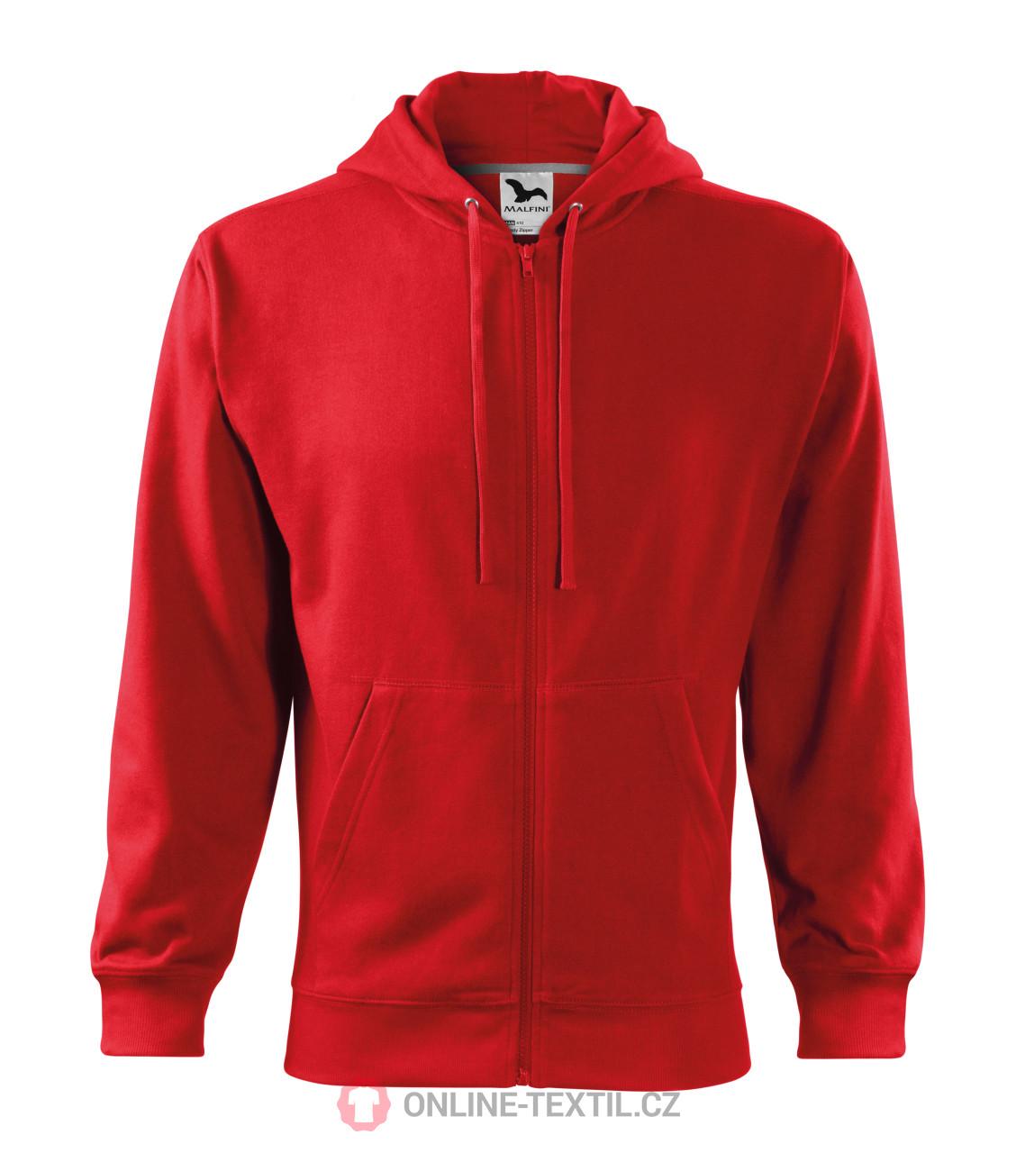 Gents sweatshirt Trendy Zipper with hood ...