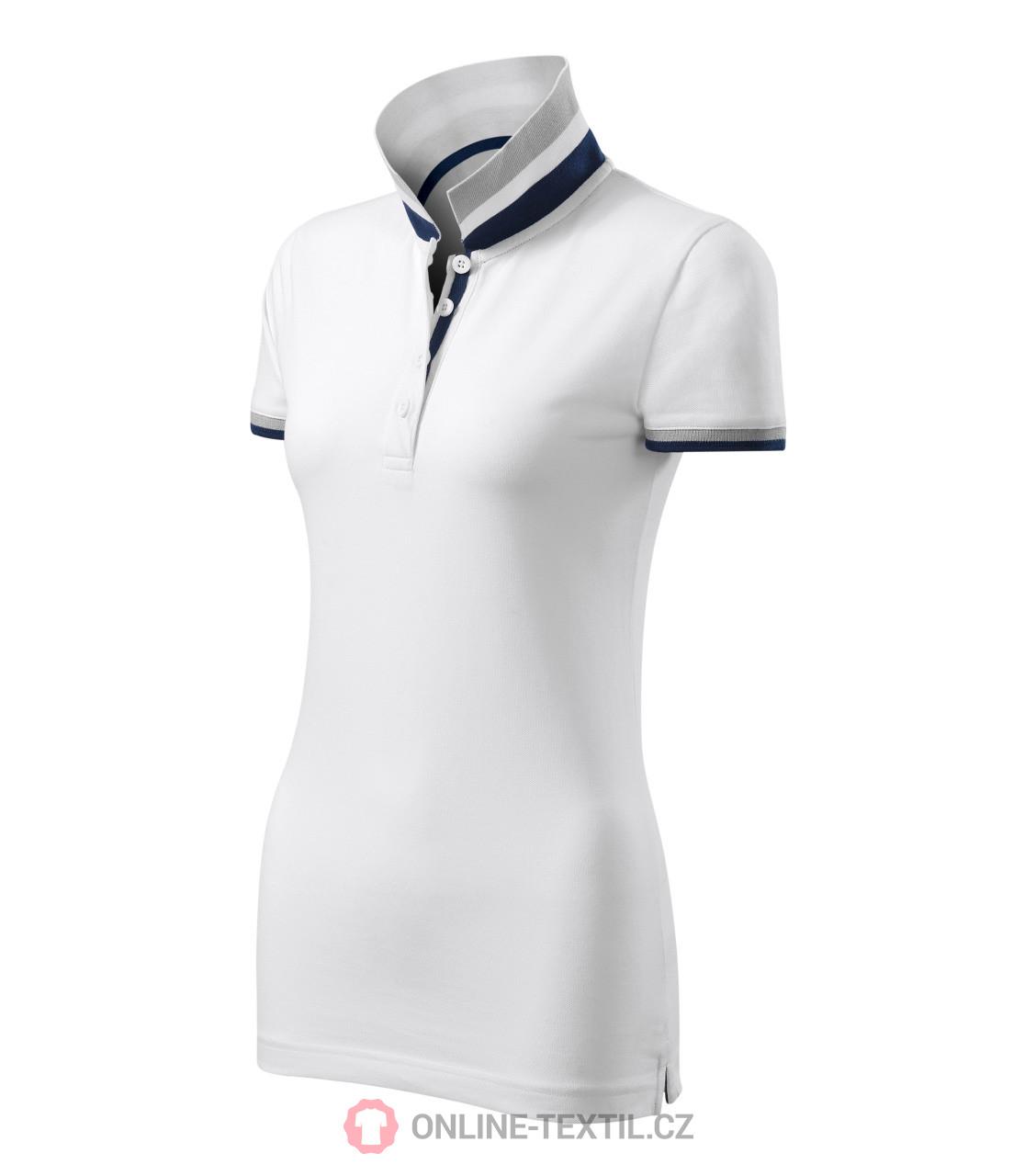 Adler Czech Premium Heavyweight Ladies Polo Shirt Collar Up 257