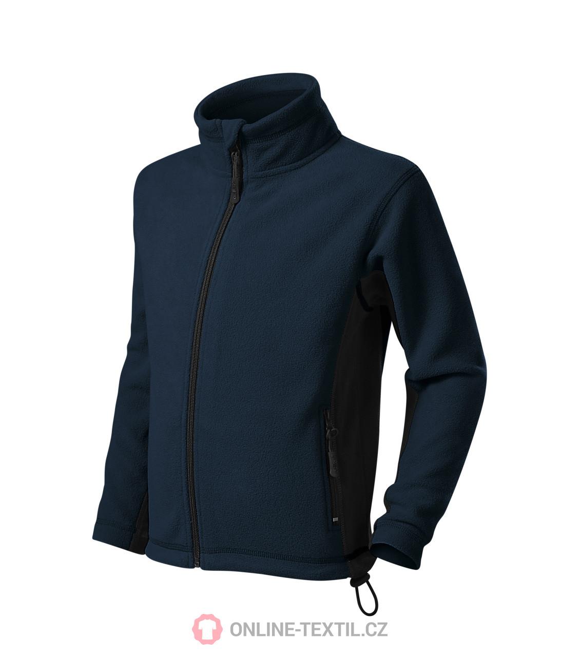 c7aef6481 ADLER CZECH Kids fleece jacket sweatshirt Frosty 529 - navy blue ...